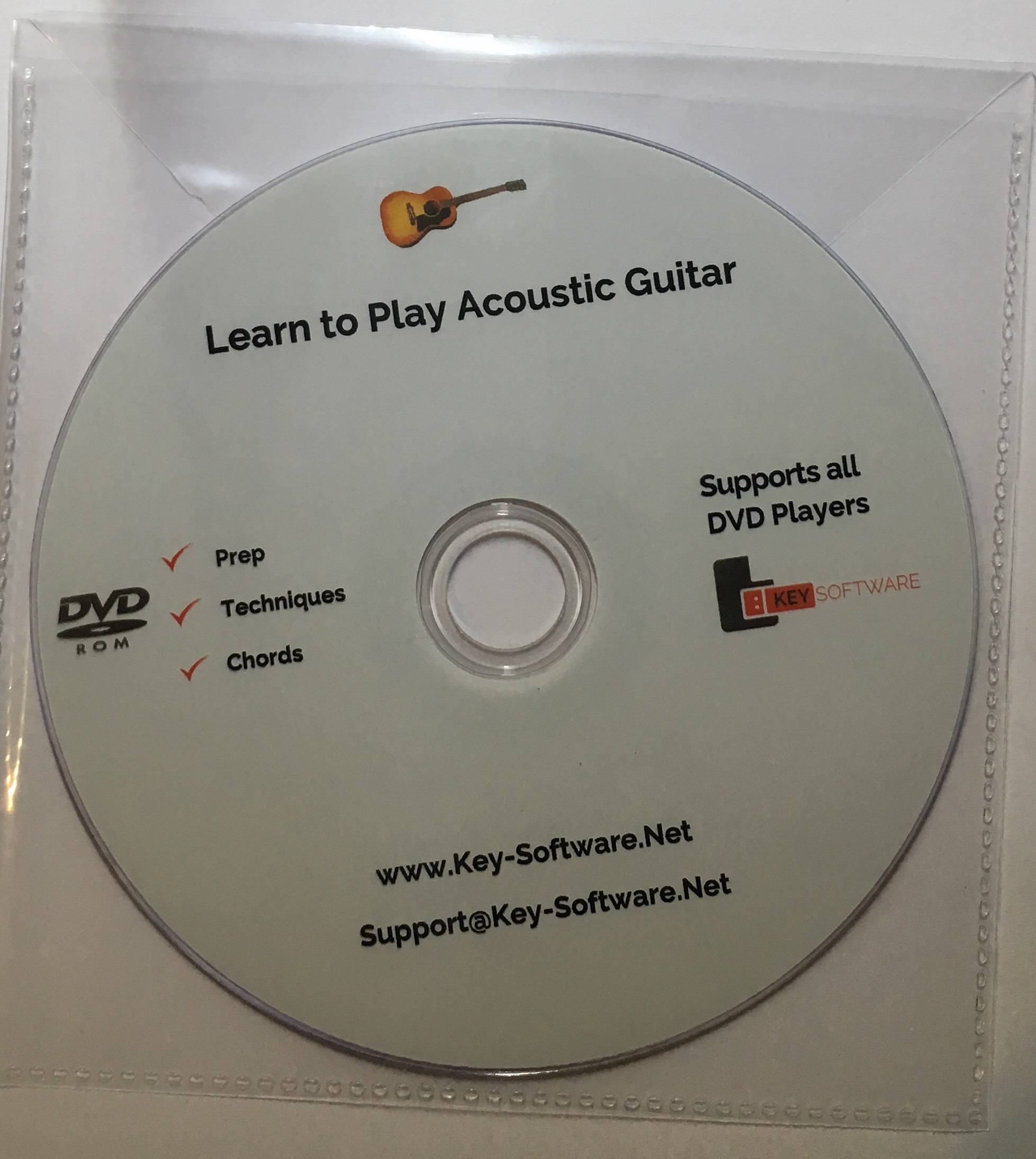 acoustic guitar dvd for teaching children kids learn how to play 4 beginners ebay. Black Bedroom Furniture Sets. Home Design Ideas