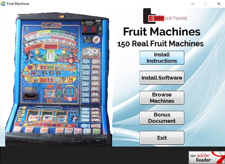 real fruit machine