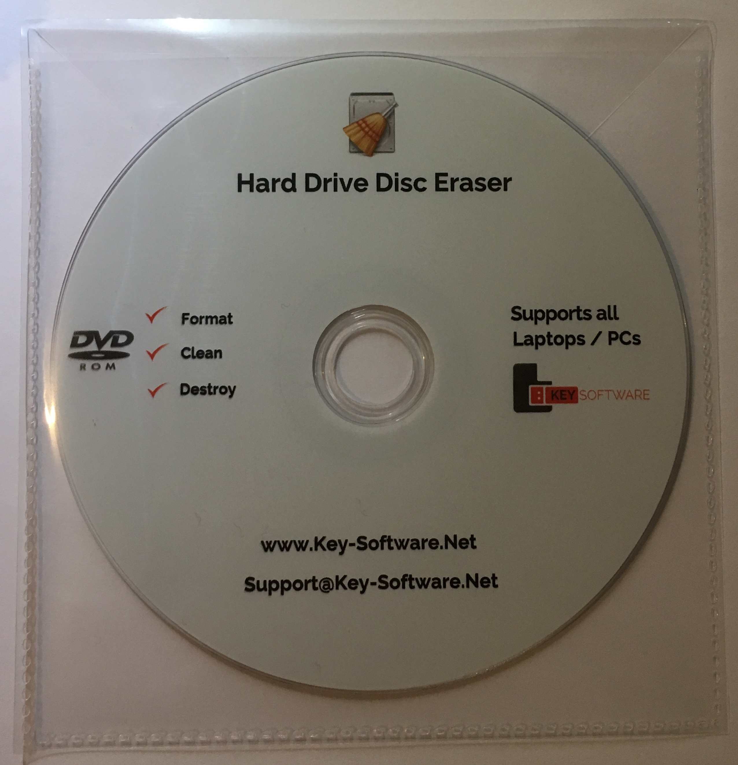 how to wipe my pc hard drive clean