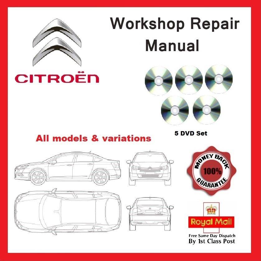 Citroen Workshop Service And Repair Manual  U2013 Key Software