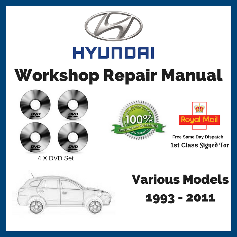 Hyundai Workshop Service And Repair Manual