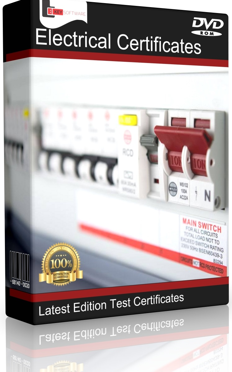 Electrical Testing Certificates Software 17th Edition Eicr 3rd Iet Wiring Regulations Book 3 Image Gallery
