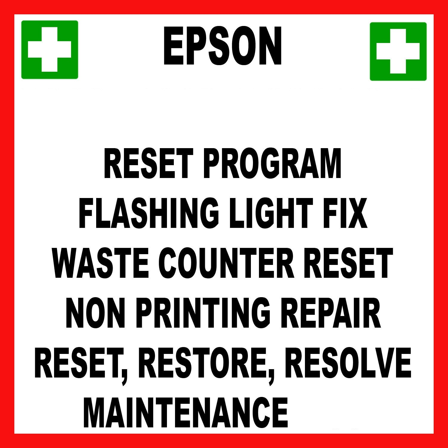 Counter reset epson download