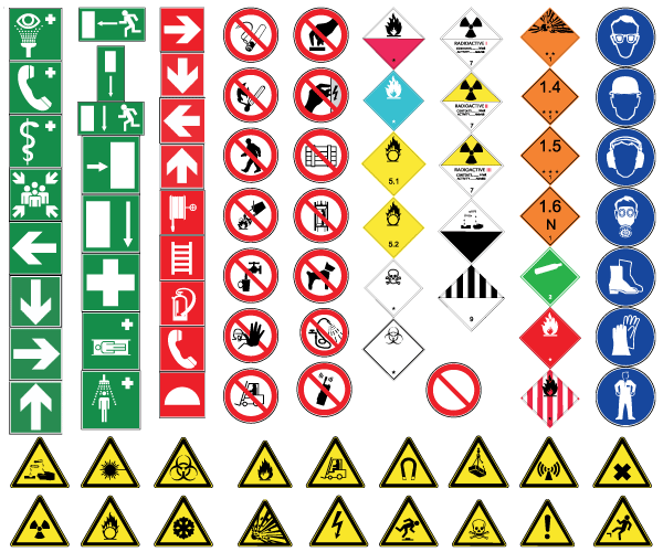 photograph regarding Printable Safety Signs identified as Information with regards to Previously mentioned 7600 Health and fitness And Security Printable Caution Indicators Posters upon DVD / CD