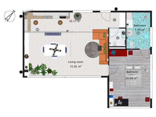 Interior design 3d software piano di creazione del for Crea casa 3d