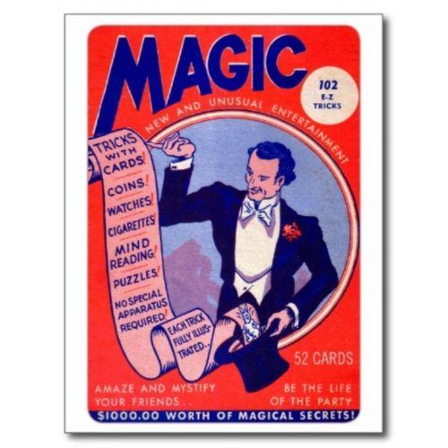 Revealed Magic Tricks Cards