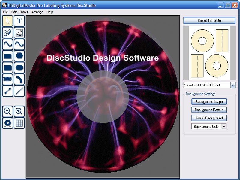 Disketch Disc Label