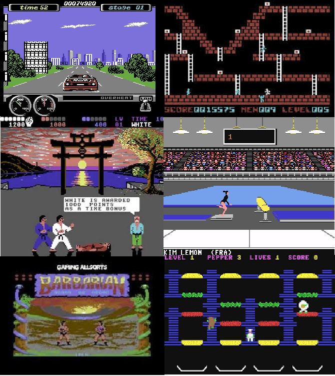 3000 Commodore 64 Classic Games