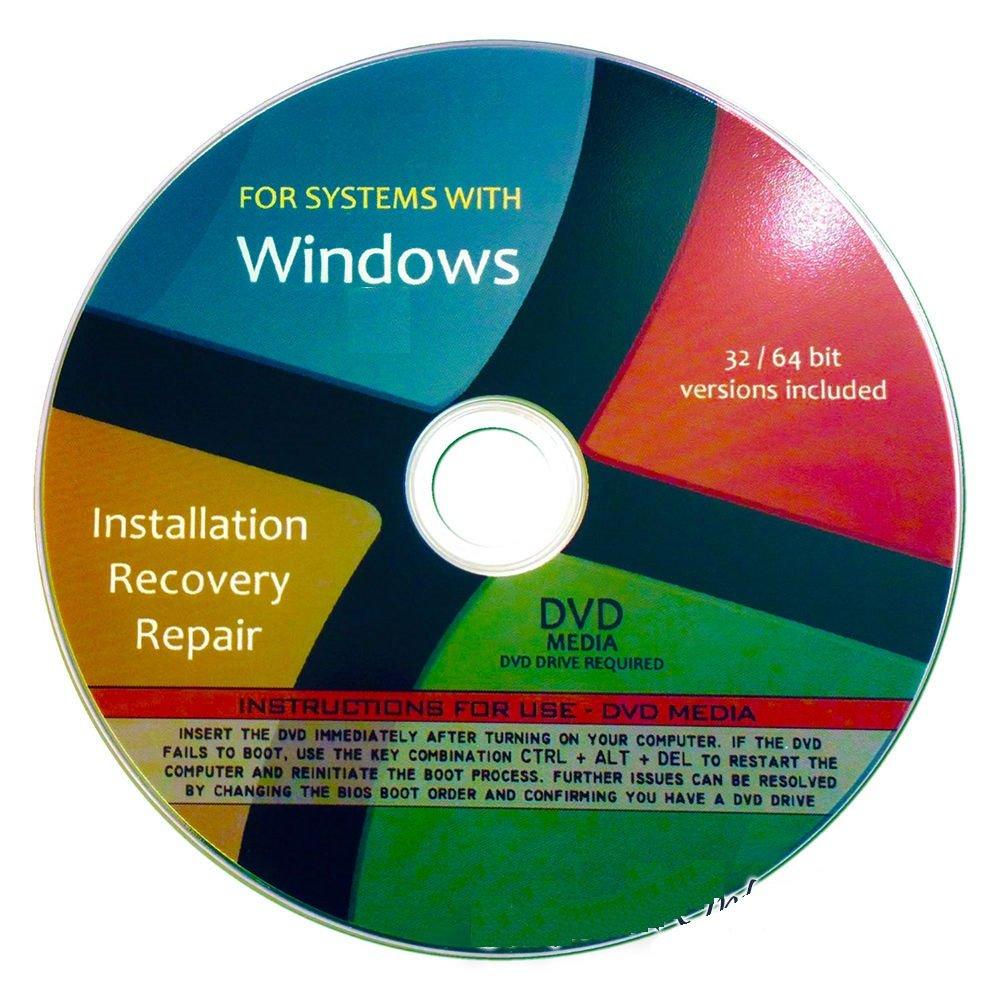 microsoft windows 7 recovery disk