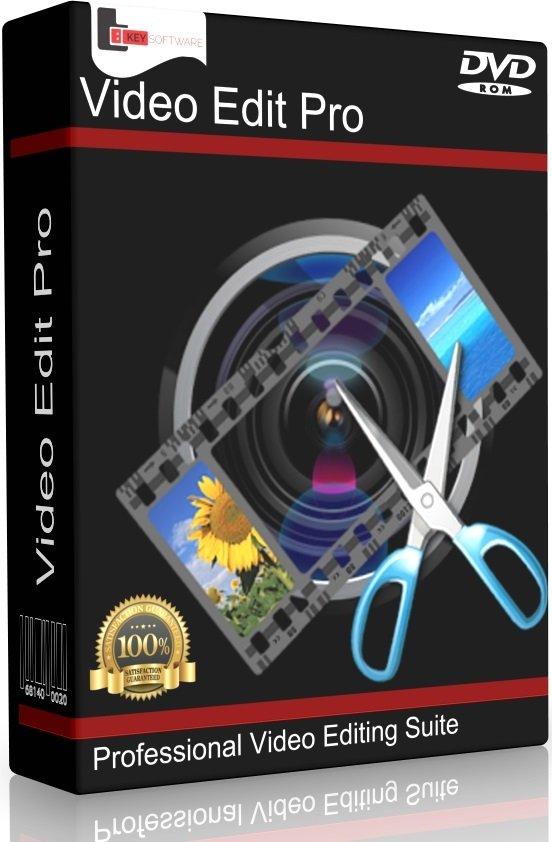 Professional Video Editing Studio PC Mac Software Program  Pro Film Cut MP4  AVI